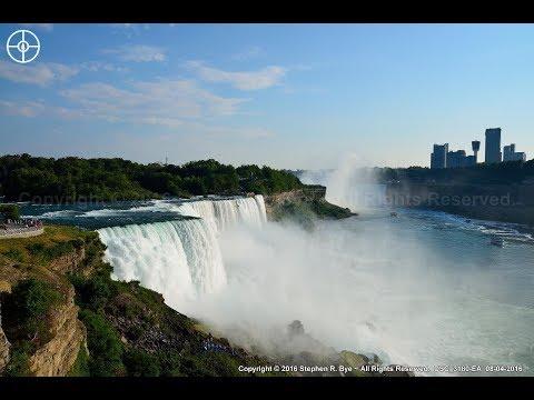 Niagara Falls ~ New York, USA & Ontario, Canada - 2016 HD