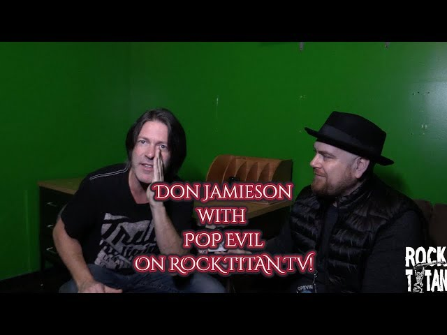 Comedian Don Jamieson provides laughter on tour with POP EVIL