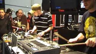 Dj Akd & Koljeticut at Musikmesse Frankfurt 2009 VESTAX