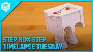 Step Box Step - Timelapse Tuesday #3dprinting