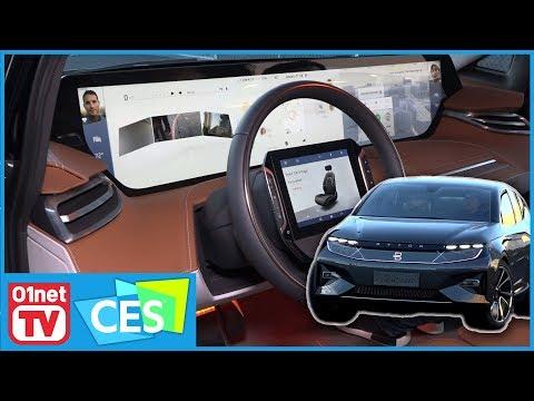 Byton Concept : incroyable véhicule électrique ou poudre aux yeux ? CES 2018