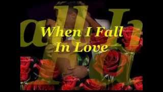 When I Fall In Love  ( Brian Mcknight & Celine Dion ) Lyrics