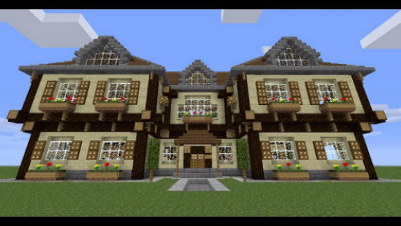 mon top 10 des meilleurs maison de luxe minecraft - YouTube