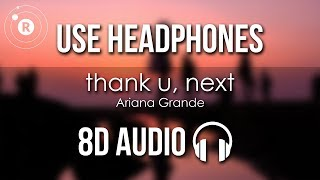 Gambar cover Ariana Grande - thank u, next (8D AUDIO)