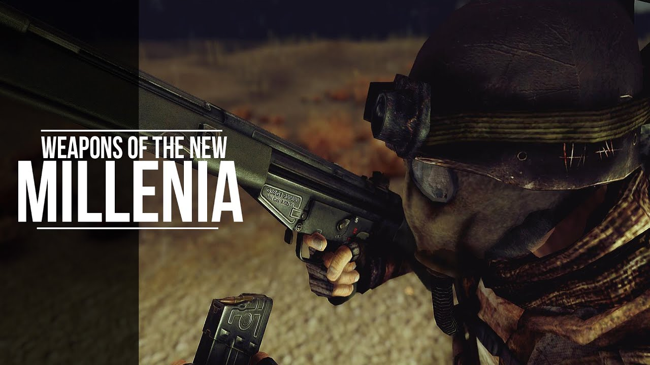 Weapons of the New Millenia - Fallout New Vegas - Mod Spotlight ...