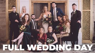 Wedding Photography Behind The Scenes - 85mm Lens Only! Full Wedding Day Nikon