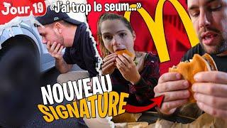 J'ai accroché ma voiture à cause du nouveau Signature McDonald's... (j'ai trop le seum) - Jour 19