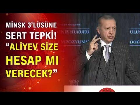 Cumhurbaşkanı Erdoğan: 'Ermenistan derhal işgal ettiği yerlerden çekilsin'