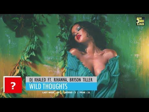 American Top 40 This Week, 29 July 2017 - Top Mainstream Pop Songs