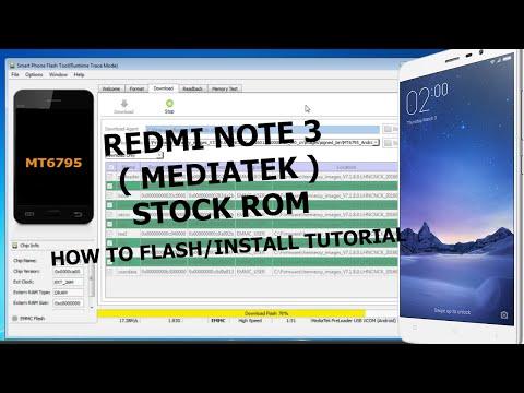 Redmi Note 3 (MediaTek) Stock Rom | How To Flash/Install Stock Rom On Redmi Note 3