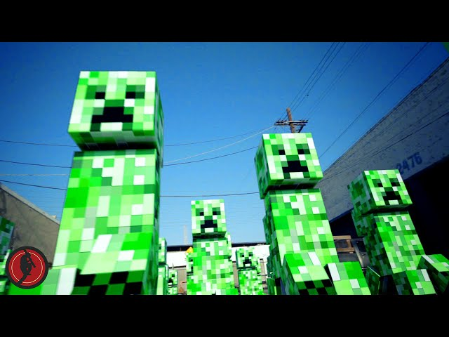 Minecraft Massacre Travel Video