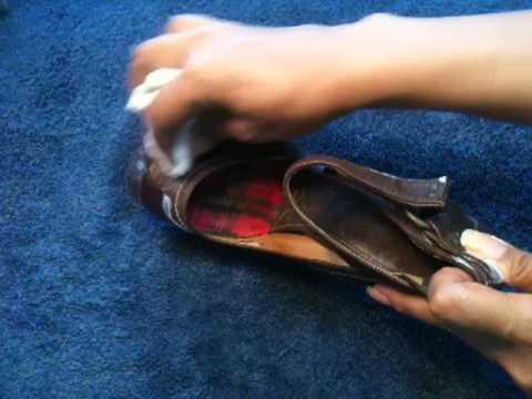 Cirer des chaussures sans cirage astuce entretien chaussures youtube - Comment cirer des chaussures ...