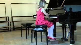 Фортепиано. Элина Пузанкова, 7 лет