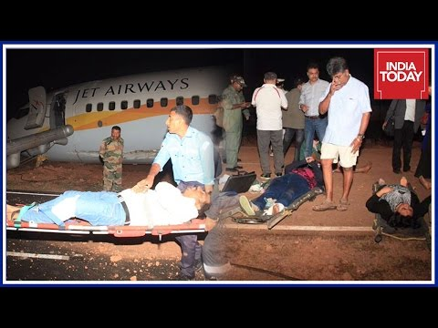 Goa International Airport Shut After Jet Airways Take Off Mishap