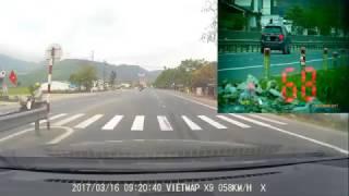 Bắn tốc độ Phú Lộc Huế Km865 H6 Camera X9 của VietMap sai? Hay súng của CSGT sai? ai ĐIÊU?