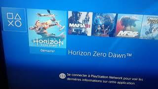 Horizon dawn zero  PS4 4.05 jailbreak