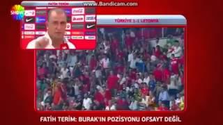 Türkiye 1-1 Letonya & Fatih Terim'in Maç Sonu Açıklamaları