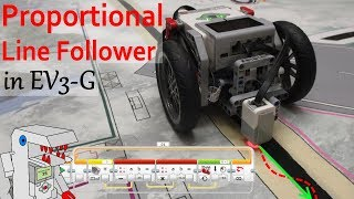 Proportional Line Follower for EV3 - Follow the Line Smoothly!