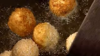 Savory Cheese Rice Balls Recipe