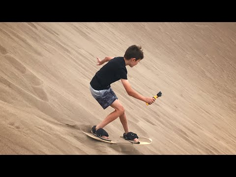 Sand Boarding at Great Sand Dunes National Park