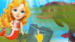 Fun Baby Girl Care Kids Game - Sweet Baby Girl Mermaid Life - Fun Explorer The Magical ocean world!