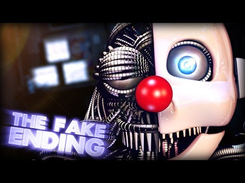 The Fake Ending EXPLAINED! || Five Nights At Freddy's: Sister Location