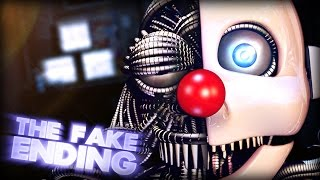 The Fake Ending EXPLAINED!    Five Nights At Freddy