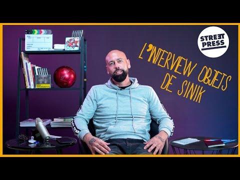 Youtube: L'interview objets de Sinik