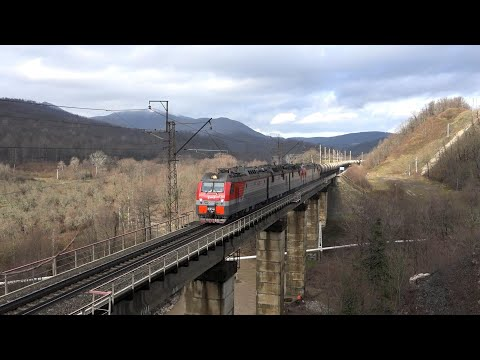 Поезда Краснодарского края (часть 4)