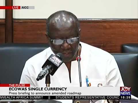 ECOWAS Single Currency - The Pulse on JoyNews (21-2-18)