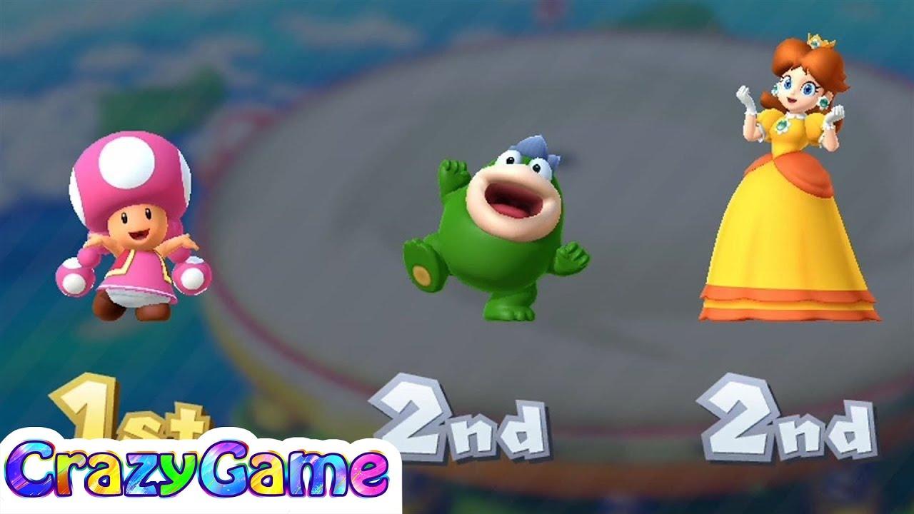 Mario Party 10 Coin Challenge - Toadette v Spike v Yoshi v ...