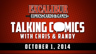 Talking Comics for 10.01.14 - Thor #1, Gotham Academy #1, Guardians 3000 #1, Lobo #1, & More!