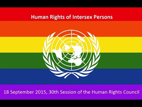 Intersex persons' human rights defenders
