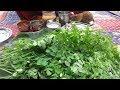 Murungai Keerai Kulambu -  Keerai Sambar / Tamil Kitchen Recipes in my village /samayal kurippu