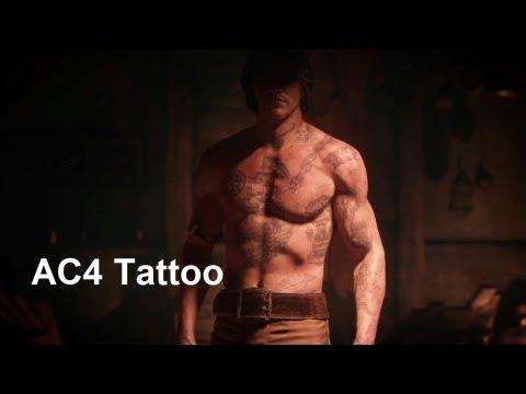 Download video: AC4 Tattoo. Edward Kenway. Assassin's ...