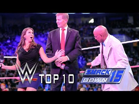 Top 10 SmackDown Moments - October 10, 2014