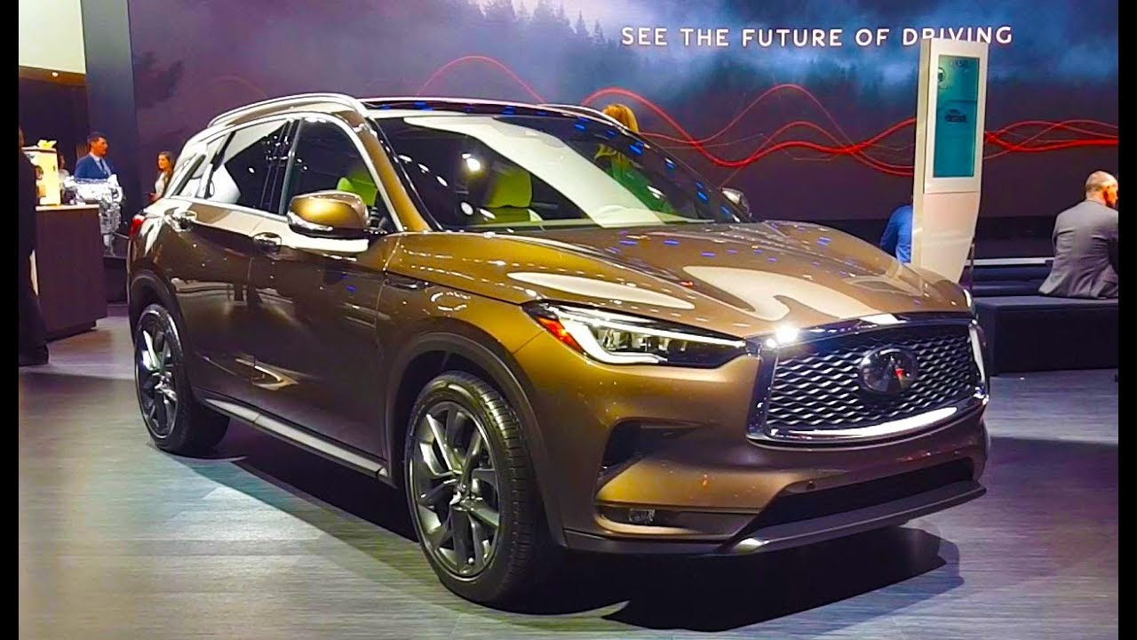 2019 infiniti qx50 - walkaround  features  u0026 specifications