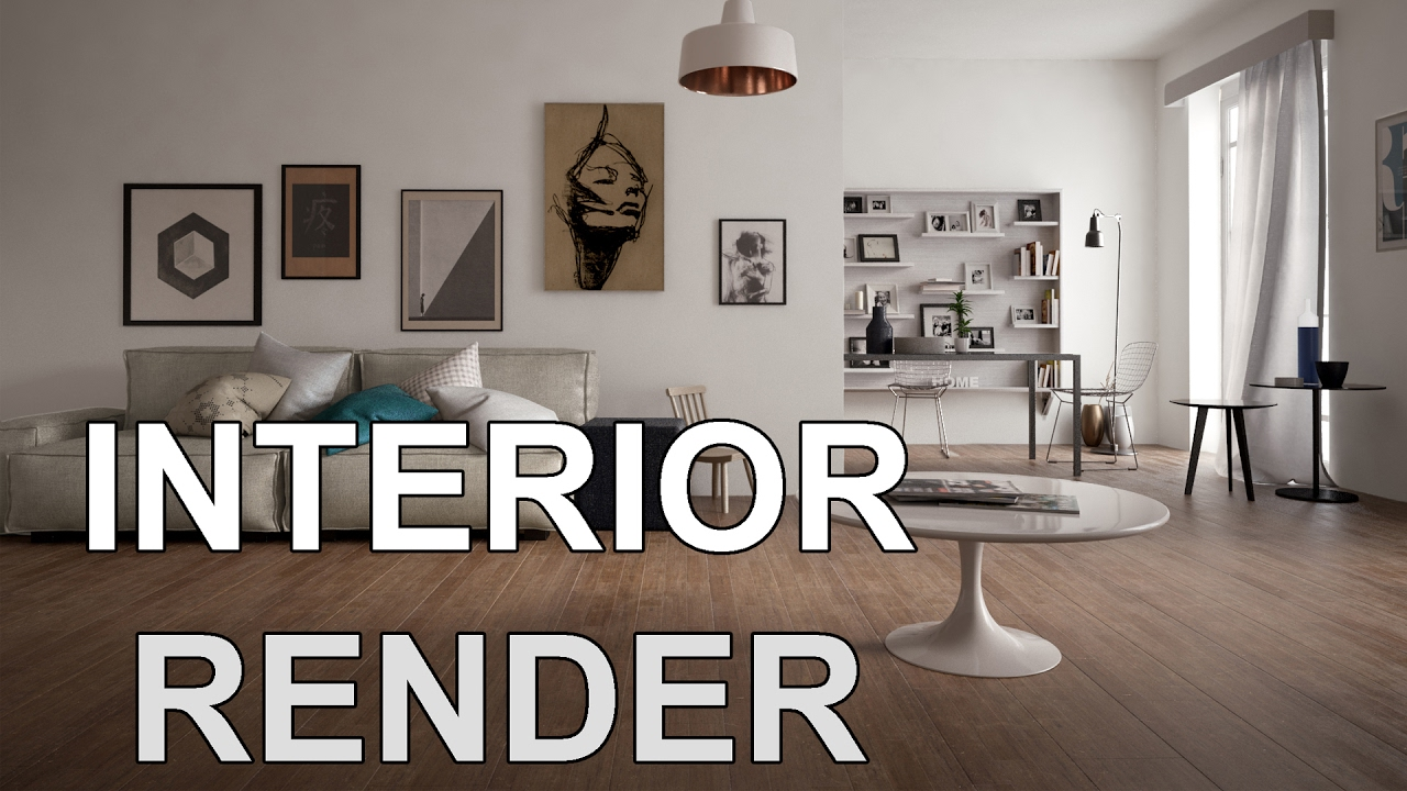 3ds max tutorial how to render realistic scene youtube - 3ds max vray render settings interior ...