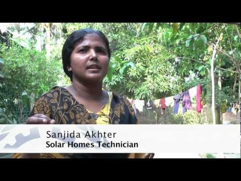 Bringing green energy and green jobs to Bangladesh