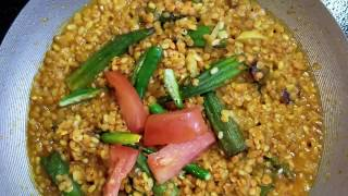 Dry lenten with vegetable