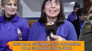 BINGO DE LA ESC. ANTONIO MANUEL SOBRAL