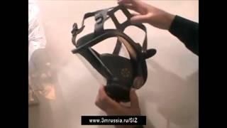 Обзор полной маски 3М™ 6000 серии
