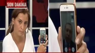 Cumhurbaşkanı Recep Tayyip Erdoğan'ın halkı sokağa davet ettiği anlar.. hande Fırat Adamsın