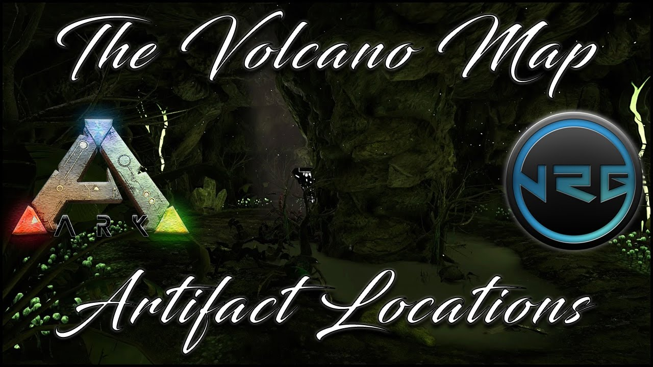Ark The Volcano Map Caves