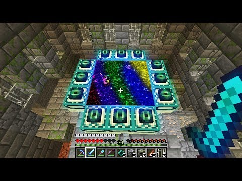 How To Make The Ultimate End Portal In Minecraft (really Rare)