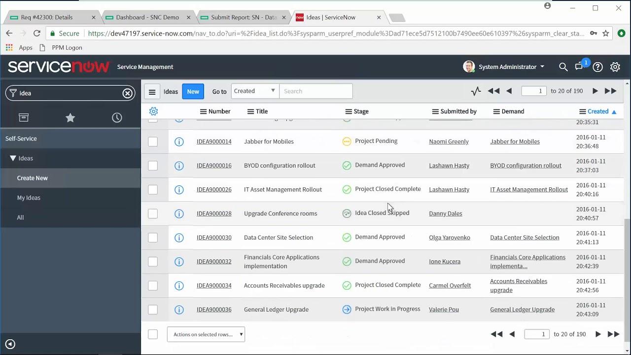 ServiceNow Connector (SNC) | PPMetrics