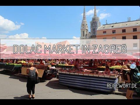 Dolac Market in Zagreb   Impressions