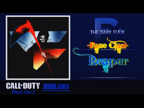 how to make the faze emblem on black ops 2