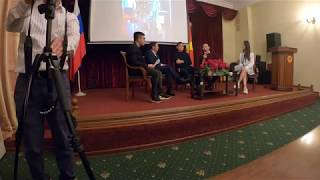 Giao lưu với gia đình thủ môn Đặng Văn Lâm tại Đại sứ quán Việt Nam ở Nga - Phần 2