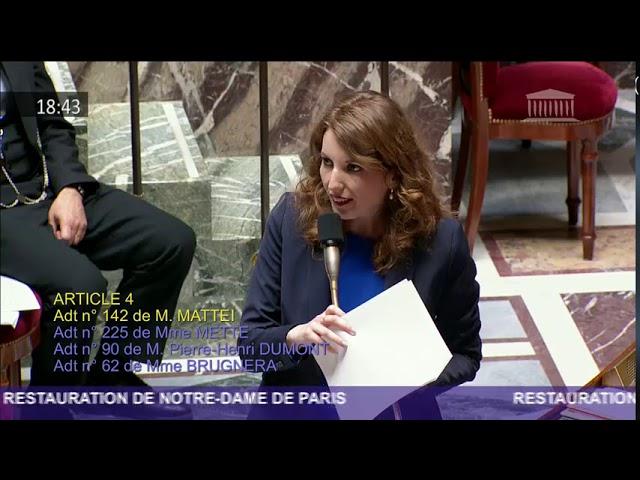 Projet de Loi Notre-Dame de Paris : débats sur les articles 4 et 5